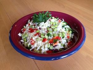 Quinoa and Edamame Salad