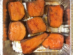 Baked Sweet Potato Halves -Breaking Free from Food Addiction with