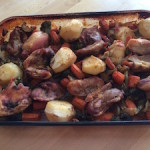 Chicken with Potatoes and Vegetables