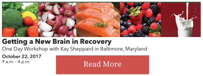 Kay Sheppard Food Plan Recipes